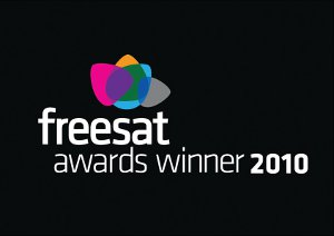 Freesat Awards Winner 2010