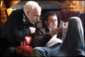 Danny Dyer and Jake West - Doghouse set
