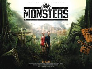 Monsters Quad Poster
