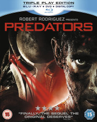 Predators Blu-ray cover