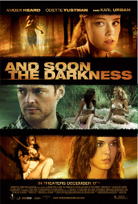 And Soon The Darkness Onesheet