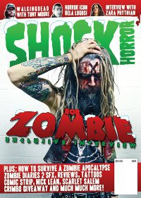Shock Horror Magazine Issue 3 cover