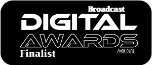 Broadcast Digital Awards Finalist 2011 Logo
