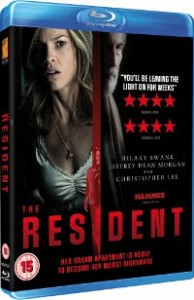 The Resident Blu-ray Cover