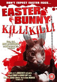 Easter Bunny Kill Kill DVD Cover