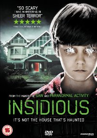 Insidious DVD Cover