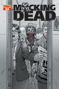 The Mocking Dead Issu 1 cover
