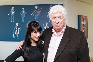 TOM BAKER ATTENDS LAUNCH FOR THE HORROR CHANNEL SEASON OF DOCTOR