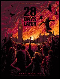 28 Days Later Poster Small