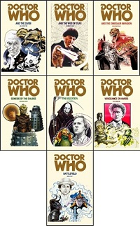 Doctor Who Boook Covers