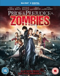 Pride And Prejudice And Zombies Blu-ray cover