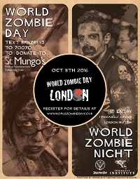 World Zombie Day poster small