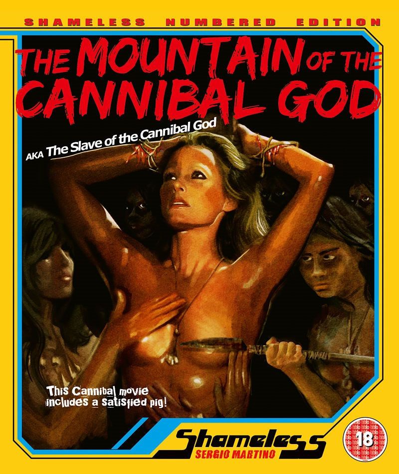 Cover image for The Mountain of the Cannibal God