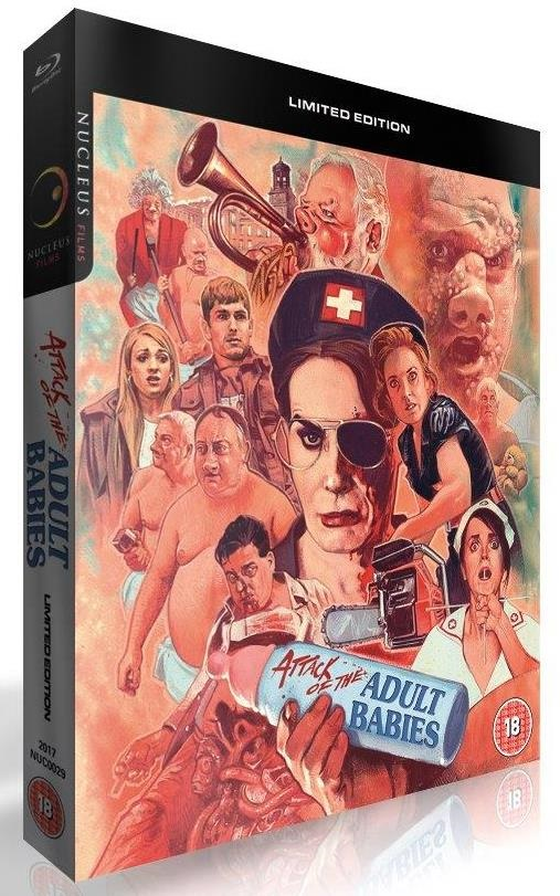 Blu-ray cover for Attack of the Aduly Babies