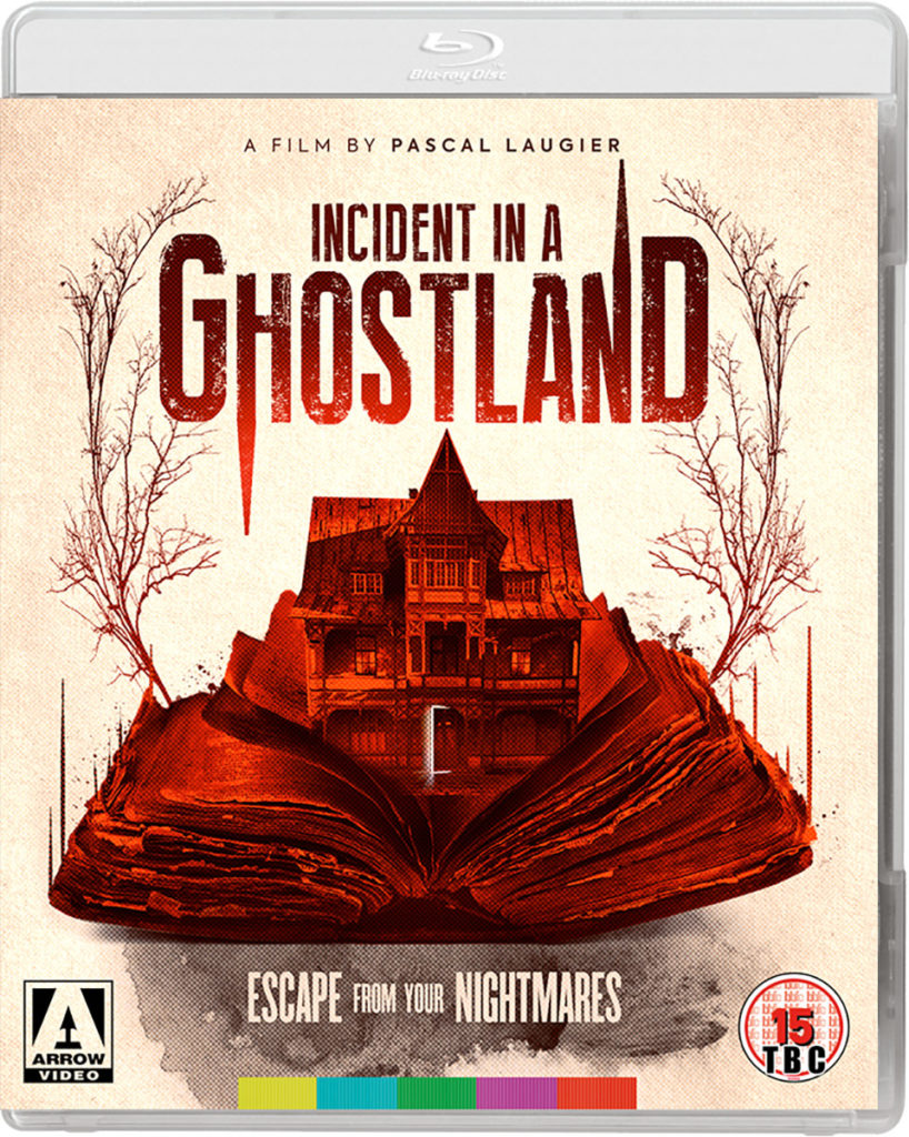 Incident in a Ghostland Blu-ray cover