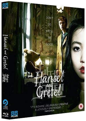 Hansel and Gretel Box art for Bluray release from 88 Films
