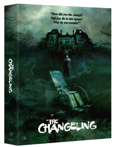 The Changeling blu-ray cover