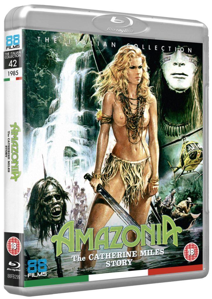 Amazonia Blu-ray cover