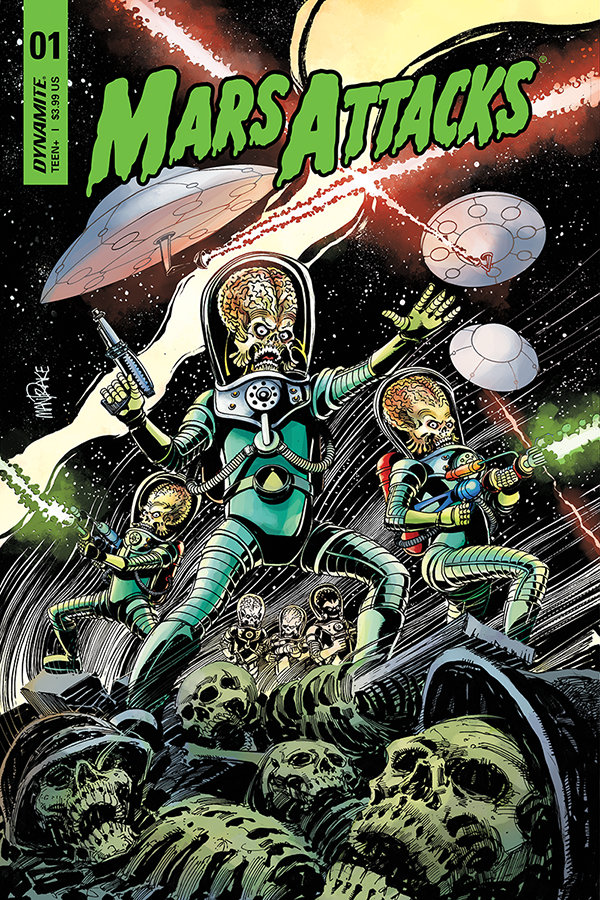 Mars Attacks first cover