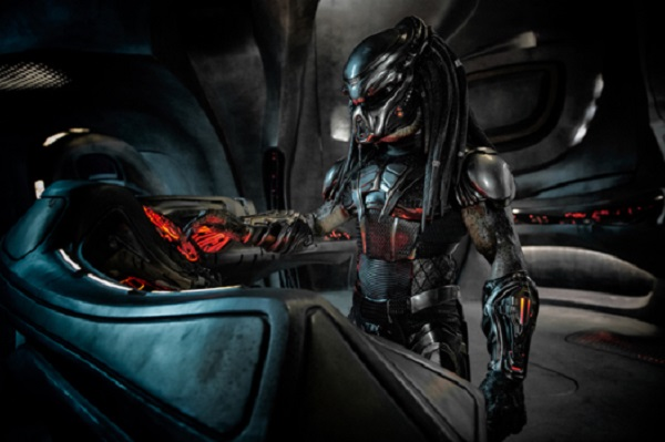 The Predator in Twentith Century Fox�s THE PREDATOR. Photo Credit: Kimberley French.