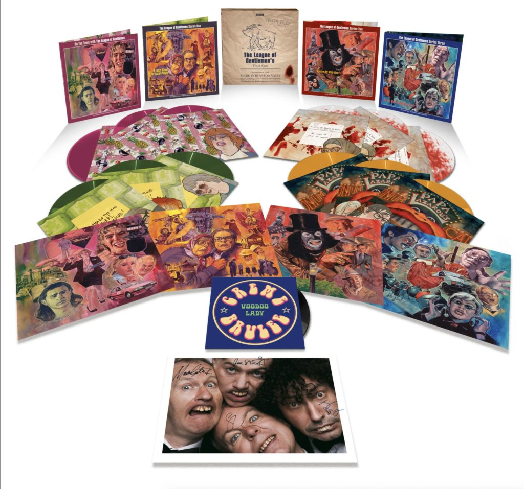 League of Gentlemen vinyl box set