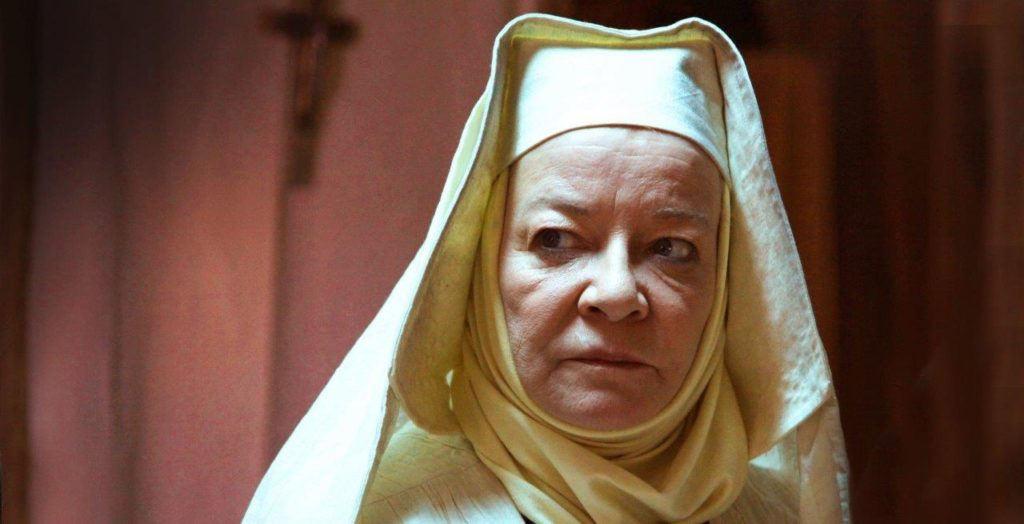 Clare Higgins in Heretiks
