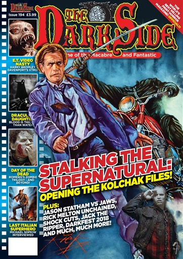 The Dark Side Magazine Issue 194 cover