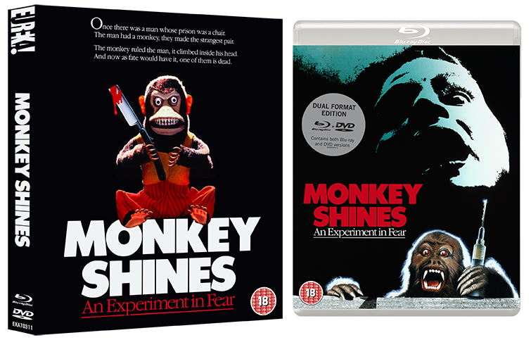 Box opening for Monkey Sines Bluray release