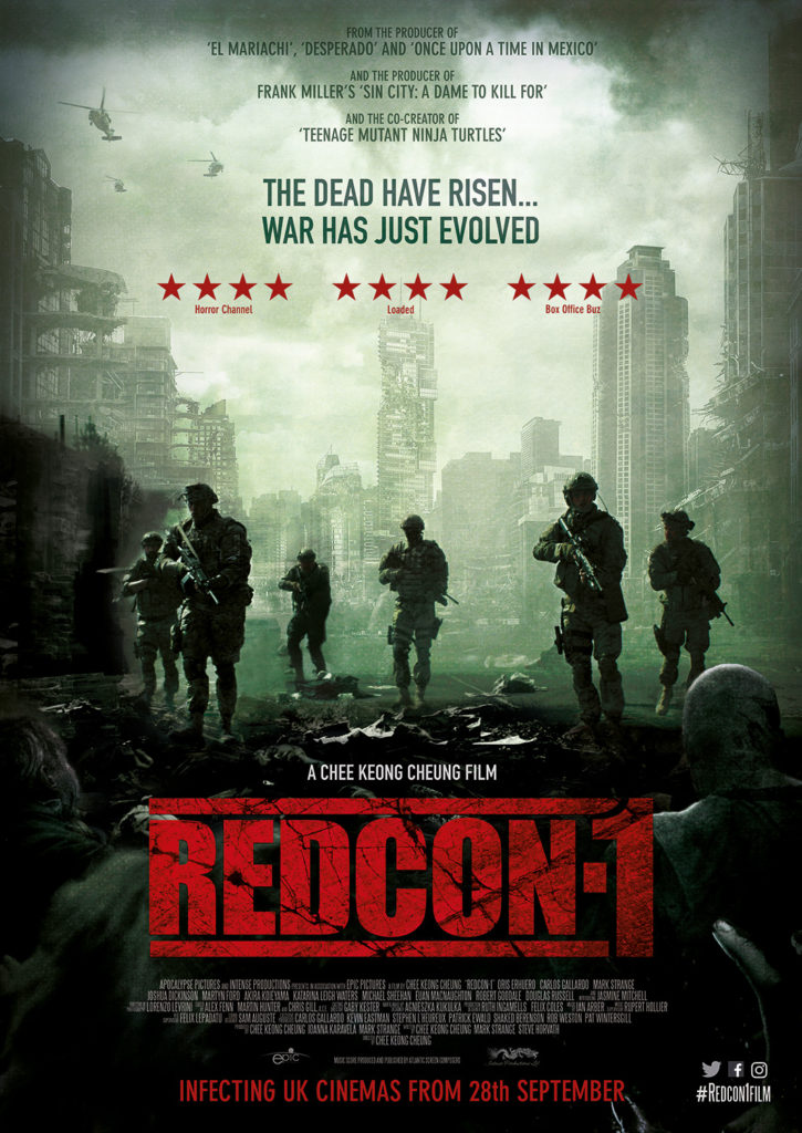 Redcon 1 UK cinema poster