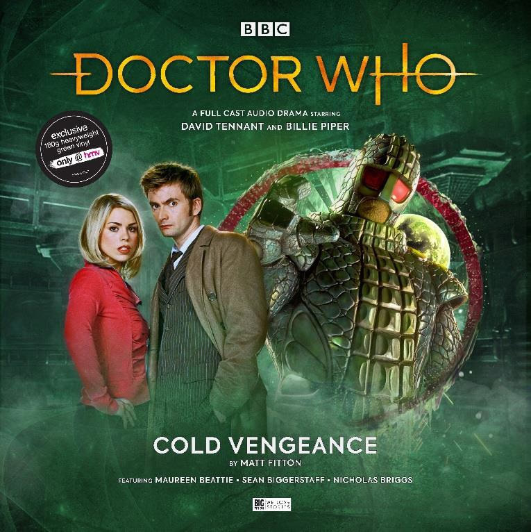 Doctor Who Cold Vengeance vinyl cover