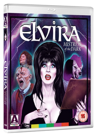 Elvira Mistress of the Dark Blu-ray cover
