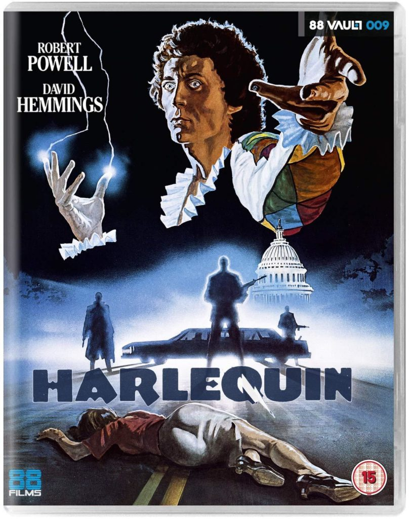 Harlequin Blu-ray cover