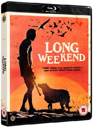 Long Weekend Blu-ray cover