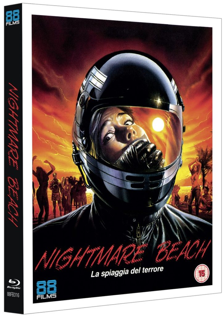 Nightmare Beach blu-ray cover