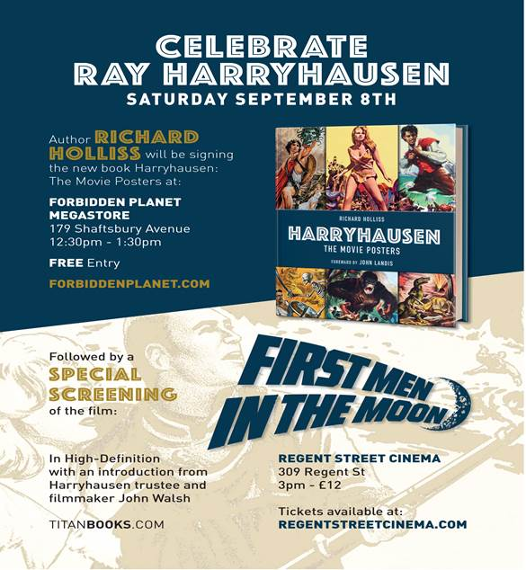 Ray Harryhousen Events