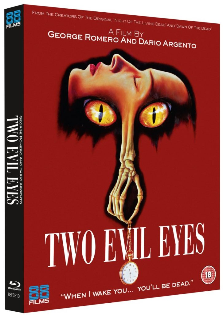 Two Evil Eyes Blu-ray cover