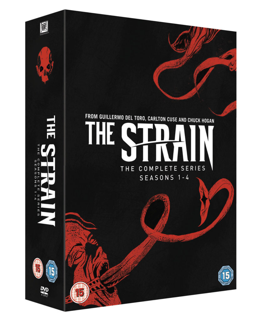 The Strain Complete Box Set