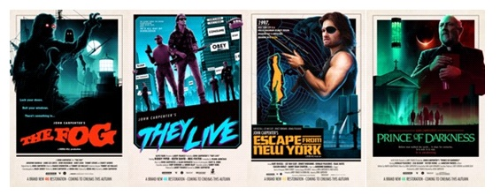 John Carpenter 4K Releases