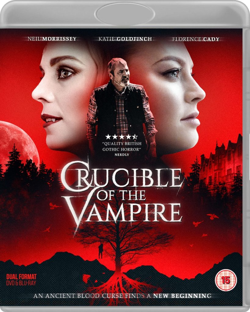 Crucible of the Vampire Blu-ray packaging