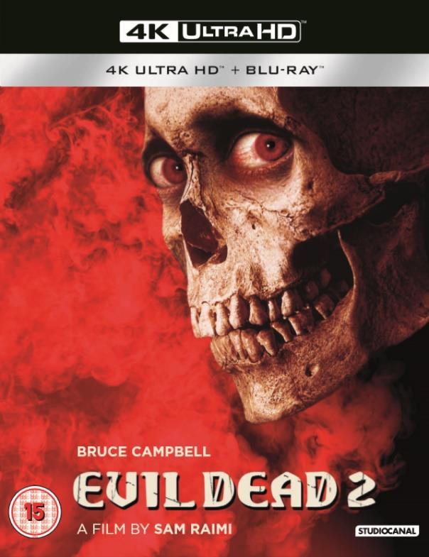 Evil Dead II 4K Cover