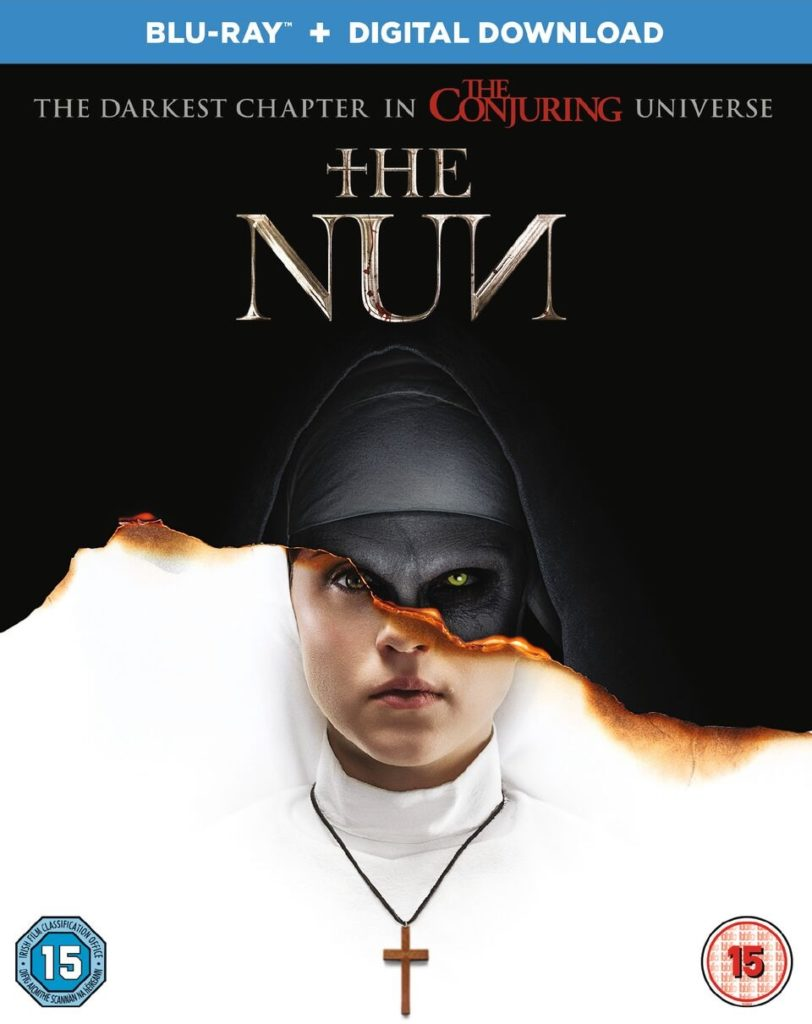 The Nun blu-ray cover