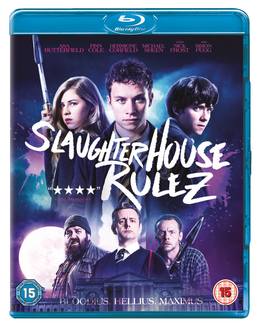 Slaughterhouse Rulez Blu-ray cover