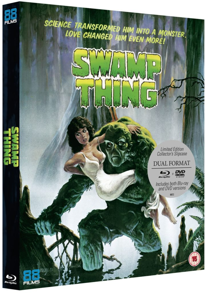 Swamp Thing 3D Packshot Slipcase