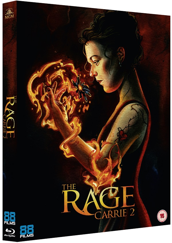 The Rage Carrie 2 - packshot (88 Films)
