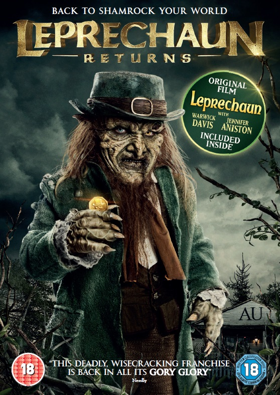 LEPRECHAUN RETURNS Double Pack Sleeve