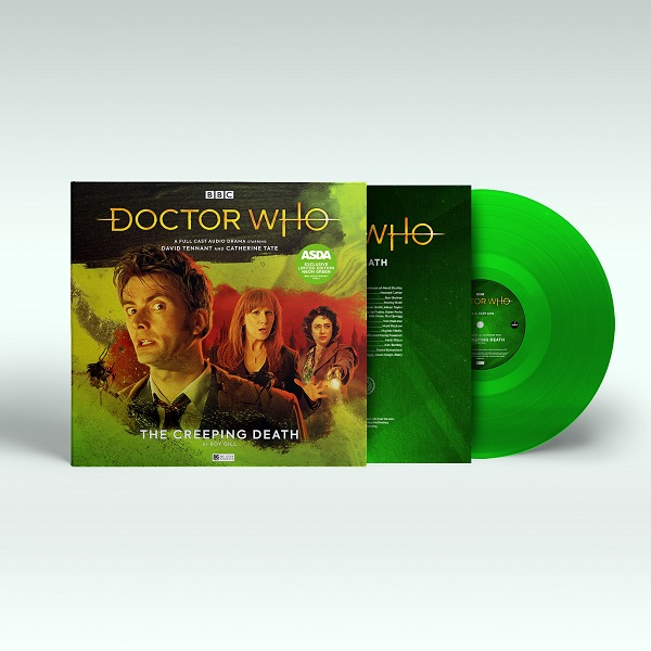 Doctor Who Creeping Death 3D packshot