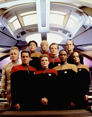 Star Trek Voyager Year 1 Cast