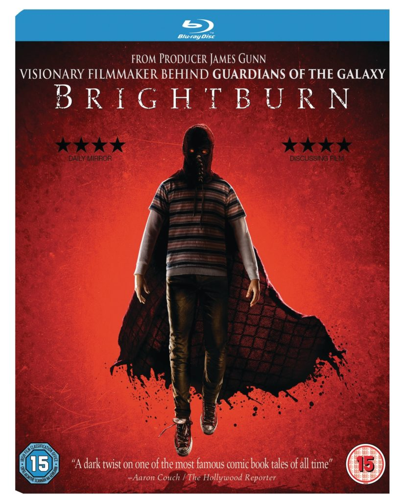 Brightburn Bluray cover