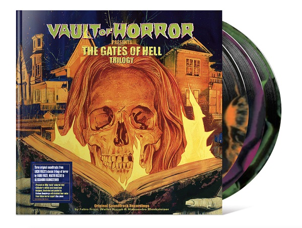 Gates of Hell Front cover with sticker