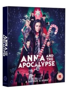 Anna and the Apocalypse Bluray cover